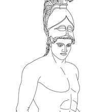 hades symbol coloring pages | Hephaestus Greek Goddess & Gods Coloring Page | Coloring ...