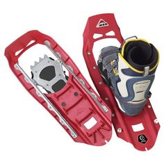 BEAR IN MIND In CO I snowshoed up and snowboarded/skiied down. In NO will snowshoe up AND snowshoe down. probably.//What snowshoes to use with snowboarding boots? « Singletrack Forum