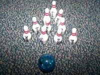 sight word bowling....this is so fun, I have several sets I bought at the dollar store...write sight words on them and they have to read them when they fall down.