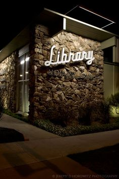 Library - Santa Monica Library, Montana Branch.  What a beautiful library!  Ours looks like a 1970s bunker.