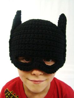 child batman hat pattern--perfect for a superhero!