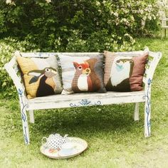 Countryside Cushions by Carola van Dyke