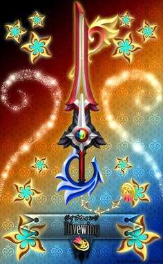 Keyblade Divewing by Marduk-Kurios on DeviantArt