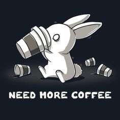 It has been empirically proven that of squirrels can't function without coffee in the morning. Get the Need More Coffee t-shirt only at TeeTurtle! Cute Animal Drawings, Kawaii Drawings, Cute Drawings, Coffee Humor, Coffee Quotes, Funny Coffee, Dibujos Cute, I Love Coffee, Animal Quotes