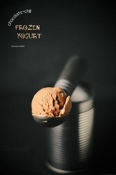 Chocolate Chili Frozen Yogurt