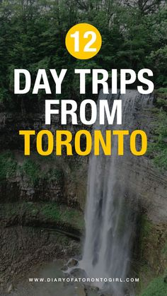 Looking for spontaneous day trips from Toronto go on? Here are some of the best and most fun day trip ideas to take near Toronto, Ontario! One Day Trip, Day Trips, Canadian Travel, Canadian Rockies, Toronto Girls, Ontario Travel, Atlantic Canada, Visit Canada, Short Trip