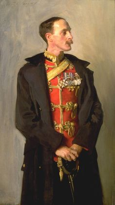 laclefdescoeurs: John Singer Sargent (American, 1856-1925), Colonel Ian Hamilton, CB, DSO, 1898. Oil on canvas, 138.4 x 78.7 cm. Tate.