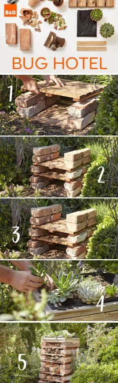 What if I made my own bug hotel...