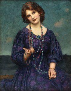 Thomas Edward Mostyn (1864-1930) - английский художник, тяготеющий к прерафаэлитам