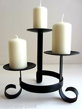 wrought iron candle holders - Google Search