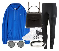 """""""Untitled #22338"""" by florencia95 ❤ liked on Polyvore featuring Reebok, Vetements, Fendi, adidas, Cartier and Ray-Ban"""