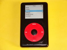 Apple iPod Photo Classic A1099 U2 Special Edition 4Th Gen 20 GB Black Red Music Photo, U2, Ipod, Apple, Classic, Ebay, Black, Black People, Ipods