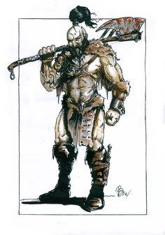Barbarian by blaszczecart