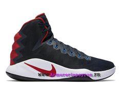 newest 1235b 515c7 Chaussures Homme Nike Hyperdunk 2016 Prix USA Extérieur BasketBall Dark  Obsidian   Dark Obsidian 844359 446