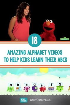 18 Amazing Alphabet Videos to Help Kids Learn Their ABCs. Learning their ABCs is one of the most fundamental parts of a child's life. These alphabet videos are fun and engaging to do it! Alphabet Video, Alphabet Songs, Alphabet For Kids, Learning The Alphabet, Alphabet Activities, Toddler Learning, Toddler Activities, Childhood Education, Kids Education