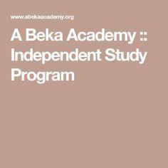 A Beka Academy :: Independent Study Program