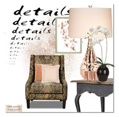 """""""Details"""" by frenchfriesblackmg ❤ liked on Polyvore featuring interior, interiors, interior design, home, home decor, interior decorating, Umbra, Haffke, Kathy Ireland and H&M"""