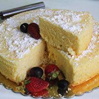 American+Sponge+Cake+by+joy+of+baking