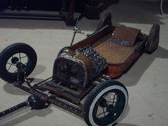red wagon hot rod radio flyer | Rat Rod Radio Flyer Wagon | Rat Rod Sales