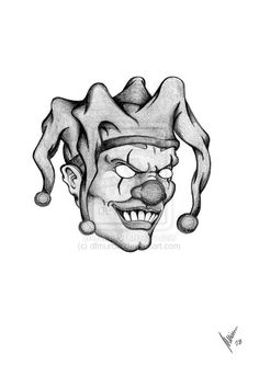 The 49 Best The Joker Tattoo Drawings Images On Pinterest