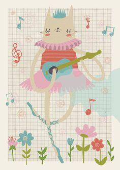 Ukelele Princess by Girl Scout