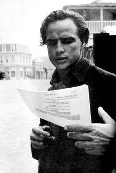 Marlon Brando behind the scenes of One Eyed Jacks.  #Brando