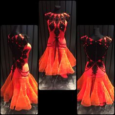 Gorgeous ballroom dress. Perfect bright color and highest quality lace designed perfectly! Created by DLK United Design #ballroom #wdsf #brightcolor #ballroomdress #standarddress
