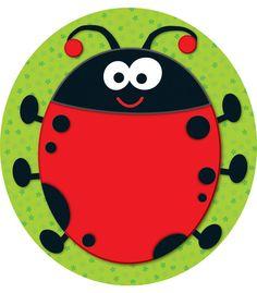 Ladybug Two-Sided Decoration - Carson Dellosa Publishing Education Supplies