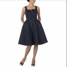 Isaac mizrahi target navy dress Isaac mizrahi target navy dress size 2. Worn once. Perfect condition. Isaac Mizrahi Dresses