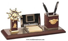 upto 65% off NauticalDeskOrganizer with #Calendar  and #ShipsWheelClock WASCBG02100http://woodartsuniverse.com/catalog/product_info.php?products_id=443