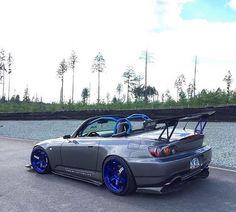 #Honda #S2K #Modified #Slammed