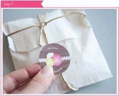 Rustic Floral DIY Party Ideas: Baby Shower Favors #BigDot #HappyDot