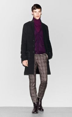 Sisley Fall Winter 2012 Man Collection - Look 22
