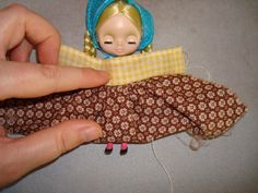 Petite Blythe Dress TUTORIAL (or small doll dress) - TOYS, DOLLS AND PLAYTHINGS