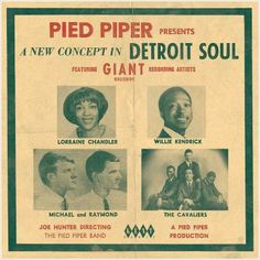 PIED PIPER PRESENTS A NEW CONCEPT IN DETROIT SOUL - NEW NORTHERN SOUL CD (KENT) 029667238922 on eBid United Kingdom