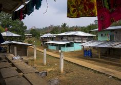 Embera Tribe Village With Modern Houses, Bajo Chiquito, Darien Province, Panama - Eric Lafforgue
