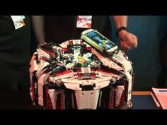 This Robot Made From Legos Solves A Rubik's Cube In 3 Seconds #ZAGGdaily #Legos #Robot