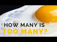 Eggs & Cholesterol : How Many Eggs Can You Eat Per Day? The Surprising Truth - Healthy Living Life Facts