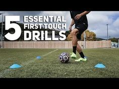 Gym Hacks - 5 Essential First Touch Drills Every Player Should Master Fitness & Diets : Move it Or Lose It source for fitness Motivation & News Soccer Footwork Drills, Soccer Practice Drills, Soccer Drills For Kids, Soccer Skills, Youth Football Drills, Soccer Training Program, Football Training Drills, Football Workouts, Soccer Coaching