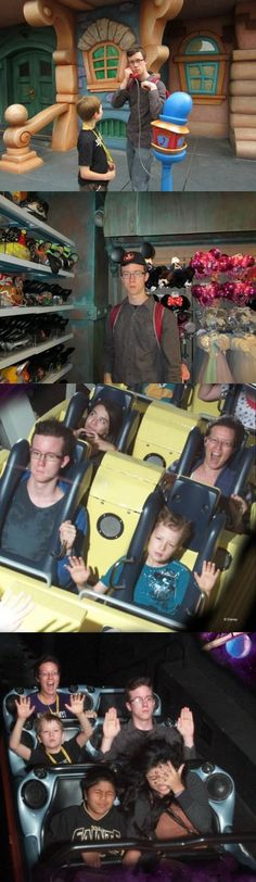 I Am Bored... At Disneyland [Pic Set] | Still more expression than Kristen Stewart in Twilight!
