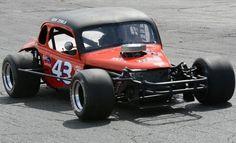Vintage Asphalt Modified race car