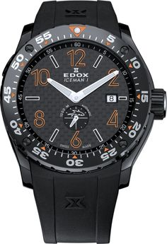 Edox Class 1 Iceman Lim. Edition 96001 37NO NIO2