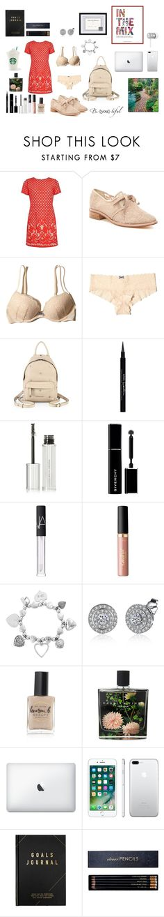 """""""At an event 🏆"""" by everythingfashion88 ❤ liked on Polyvore featuring Adrianna Papell, Hollister Co., Givenchy, NARS Cosmetics, tarte, ChloBo, Lauren B. Beauty, Nest Fragrances, Apple and Beats by Dr. Dre"""