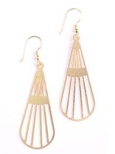 Sunbeam earrings