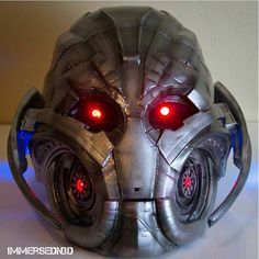 Something we liked from Instagram! Completed #3dprinted #Ultron #cosplay Thanks @myminifactory for the file. Come see it at #megacon2016 at the @samflaxorlando and @deltamaker booth #3dprinting #3dprints #marvel #comics #3dprinter by immersedn3d check us out: http://bit.ly/1KyLetq