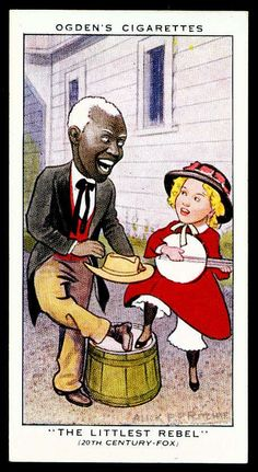 Cigarette Card - Shirley Temple & Bill Robinson