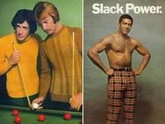 1970s men fashion. Quick! Knit that chap a shirt! Sorry, only #mens #scarves #AW15 at ally-bee.com