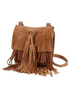 Le sac à franges en cuir, RAINBOW