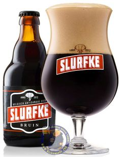 Our New Beer: Slurfke Bruin 8.5°   Available at http://store.belgianshop.com/special-beers/1998-slurfke-bruin-85-13l.html    Slurfke needs no explanation to anyone who watches television in Flanders. If you keep up with the popular soap called 'Thuis' ('Home'), broadcast daily on Flemish television, you will know all about the adventures of its main character, Eddy Van Noteghem. One fine day, Eddy, who is known for his love of beer, unearths a beer recipe compiled by his late Dad. He invites…