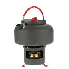 Camping Kettle and Stove #CampingKettle